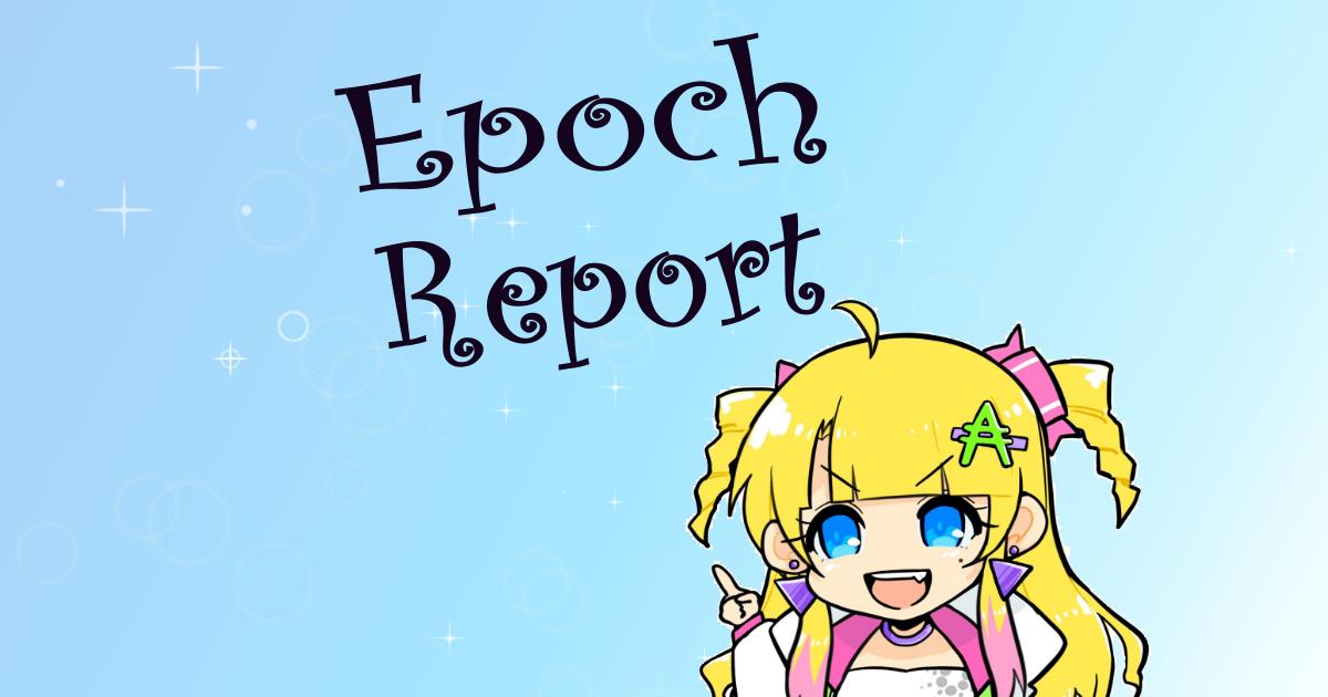 [Report] 281 epoch